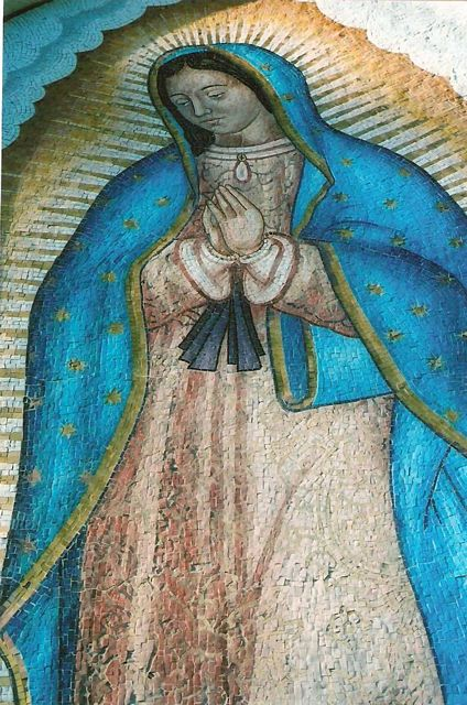 Guadalupe Mosaic - detail 1
